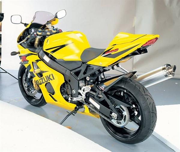 94 Suzuki Consumer Ratings: Suzuki GSX-R600/750 (2004-2005) Undertail