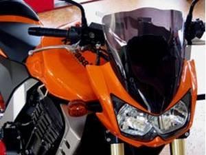 Kawasaki Z1000 Windscreen Dark Tint 2003 2006