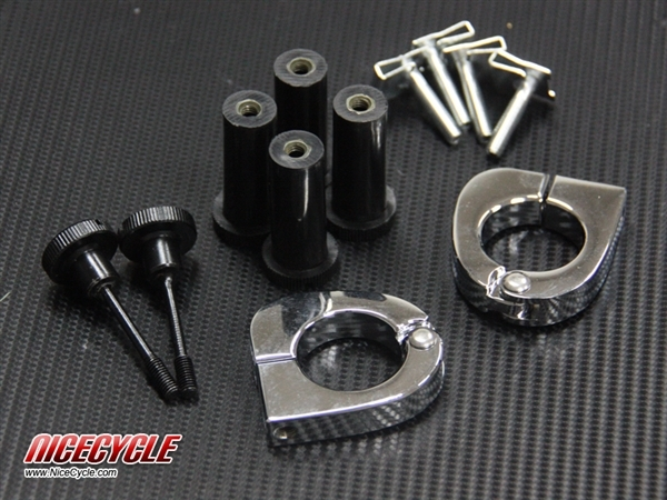 Harley Davidson Quick Release Hardware Lower Vented