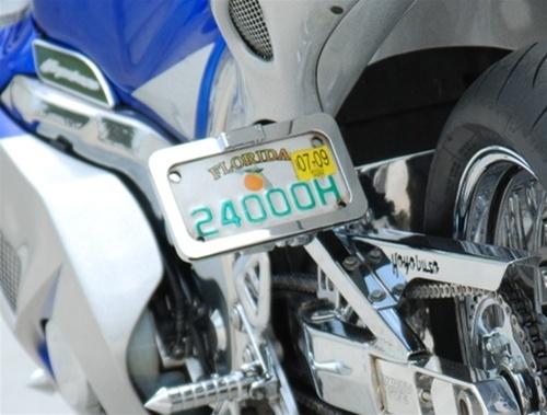 Suzuki Hayabusa Peg Mount Tag Bracket W L E D Plate