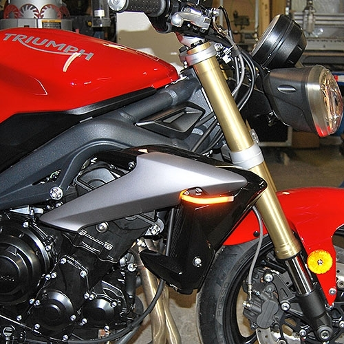 Triumph Street Triple 2013 Present Led Front Turn Signals