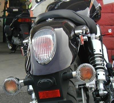 Kawasaki Vulcan 1500 Meanstreak 2002 2003 Integrated Tail