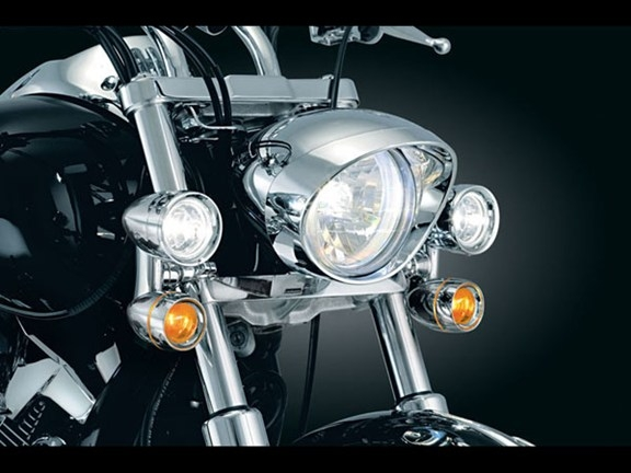 Kawasaki Meanstreak 1600 Constellation Driving Lights W