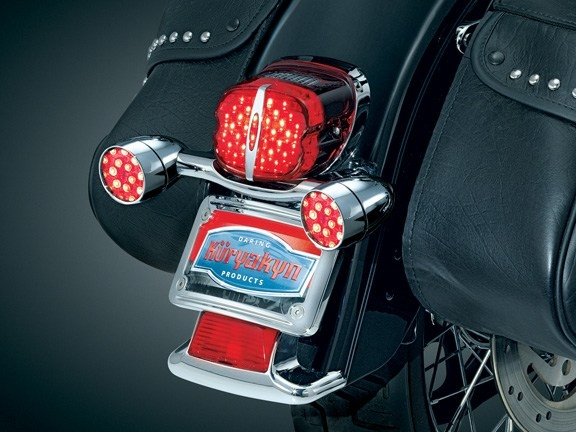 harley davidson led deluxe tail light conversions by kuryakyn. Black Bedroom Furniture Sets. Home Design Ideas