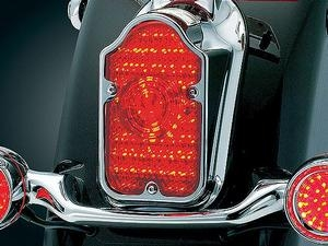 harley davidson led tombstone tail light conversions by. Black Bedroom Furniture Sets. Home Design Ideas
