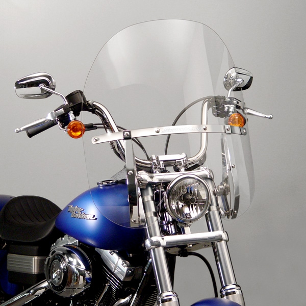 how to clean a harley davidson windshield