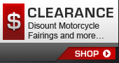 Clearance - Discount Motorcycle Fairings and more