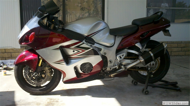 Suzuki Hayabusa Fairings by NiceCycle