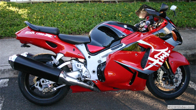 NiceCycle Suzuki GSXR 1300 Fairings