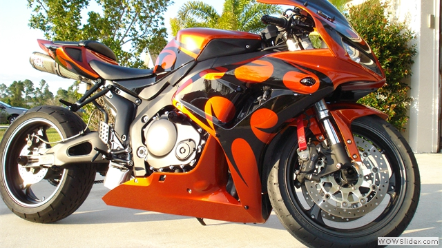 Custom CBR NiceCycle Fairings