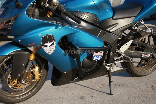 Kawasaki ZX6R 2005-2006 Stunt Engine Cage by Racing 905