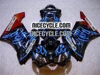 Honda CBR 1000RR Blue Flame/Bronze Fairings