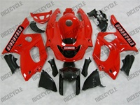 Yamaha YZF-600R Solid Red Fairings