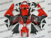 Honda CBR 600RR Black/Red OEM Style Fairings