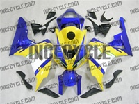 Yellow/Blue Honda CBR 1000RR Fairings