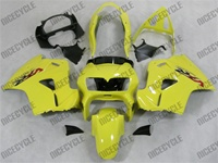 Honda VFR 800 Yellow Fairings