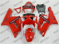 Kawasaki ZX6R Gloss Red Fairings