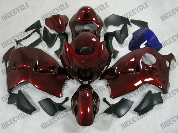 candy maroon   suzuki gsxr  hayabusa motorcycle fairings