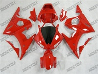 Yamaha YZF-R6 Solid Red Fairings
