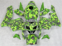 Honda CBR 600RR Green Camo Fairings