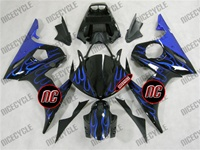 Yamaha YZF-R6 Blue Flame Fairings