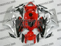 Honda CBR 1000RR Silver/Red OEM Style Fairings