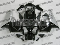 Honda CBR 600RR Gloss Black/Silver Fairings