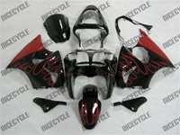 Red Fire Kawasaki ZX6R Fairings