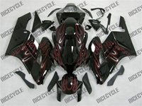 Honda CBR 1000RR Fire Red Flame Fairings