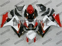 Suzuki GSX-R 1000 White/Red/Black Fairings