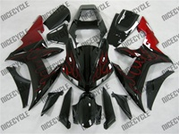 Yamaha YZF-R1 Red Flame Fairings