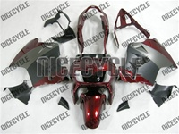 Matte Black/Red Honda VFR 800 Fairings