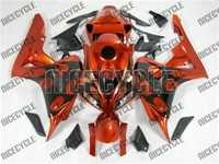 Honda CBR 600RR Metallic Orange Tribal Fairings
