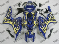 Honda CBR 1000RR Blue Yellow Tribal Fairings