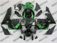 Honda CBR 600RR Deep Green/Black Fairings