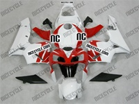 Honda CBR 600RR White/Red OEM Style Fairings