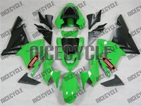 Kawasaki ZX10R Gloss Green/Black Fairings