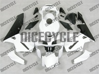 Honda CBR 600RR White/Black Fairings