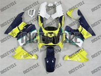 Blue/Yellow Honda CBR 900RR Fairings
