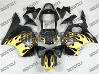 Honda CBR 954RR Yellow Blaze Fairings