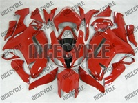Kawasaki ZX6R Solid Red Fairings