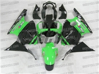 Kawasaki ZX12R Monster Green/Black Fairings