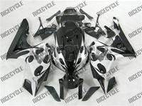 Honda CBR 1000RR Silver Tribal Fairings