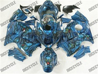 Custom Airbrush Demons Suzuki GSX-R 1300 Hayabusa Fairings