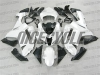 Kawasaki ZX6R Gloss White Fairings