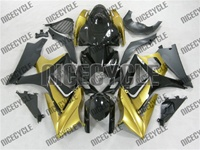 Suzuki GSX-R 1000 Gold on Black Fairings