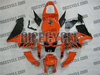 Honda CBR 600RR Orange Tribal Fairings