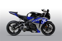 Honda CBR 1000RR Two Brothers Blue Fairings