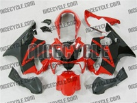 Honda CBR 600 F4i Red/Black Fairings