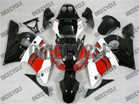 Yamaha R6 Red/White/Black Fairing